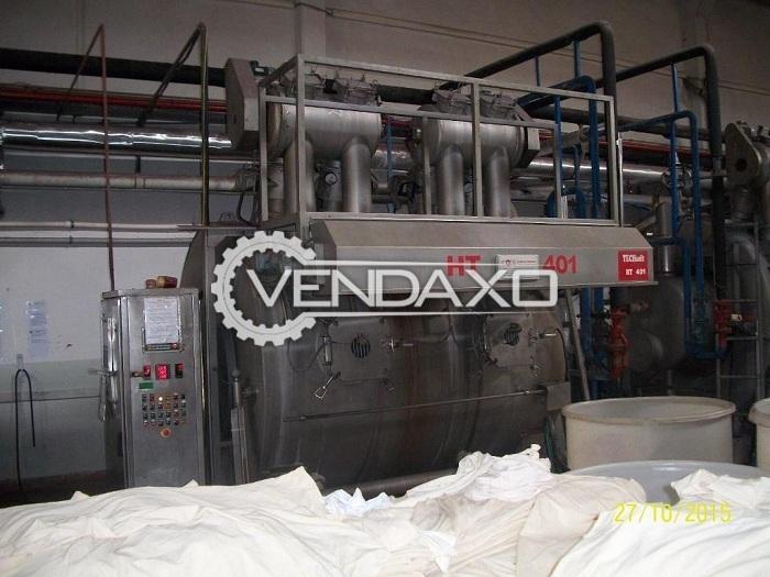 Canlar Fabric Dyeing Machine - 400 KG, 2000 Model