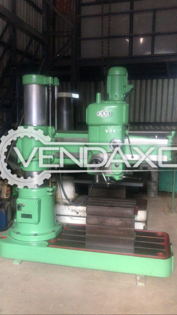 MAS VR 4 Radial Drill Machine - Drilling Capacity : 50 mm