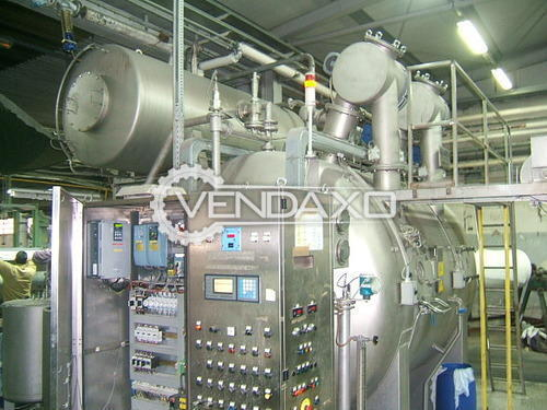 MCS Jet Dyeing Machine -  600 Kg