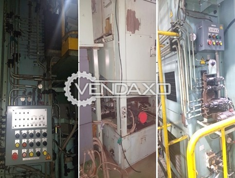 Nachi BV-T25-17MNCAL Broaching Machine - Pulling Force : 250 KN