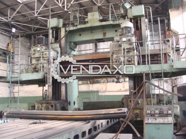 Russian 6672 Plano Miller Machine - Working Table Size : 8500 x 2500 mm