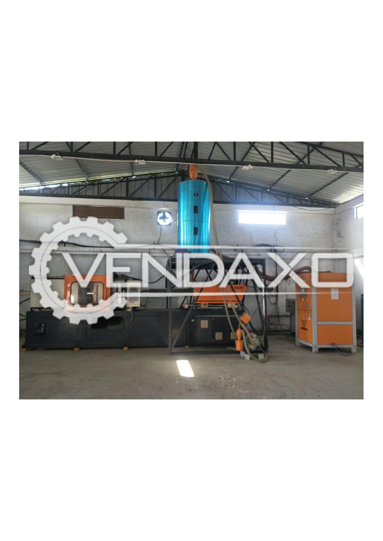 Goyani GM 250 Injection Moulding Machine - 250 Ton