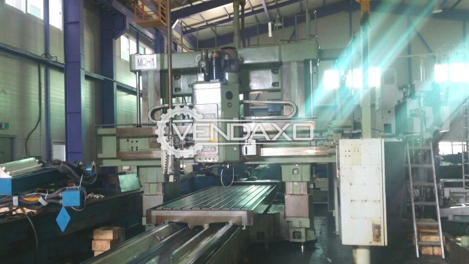 Okuma MDBA Plano Miller Machine - Table Size : 1500 x 4000 mm