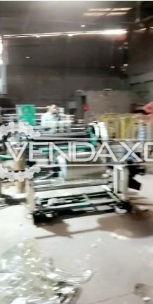 For Sale Used Rotogravure Printing- Lamination- Slitting- Pouching- DG Set- Rubber Rolls Machine
