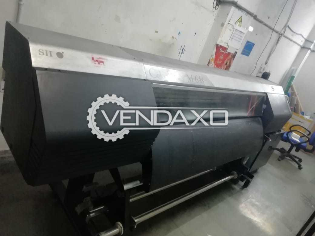 Seiko M-64 Eco Solvent Printing Machine - 702 x 720 DPI