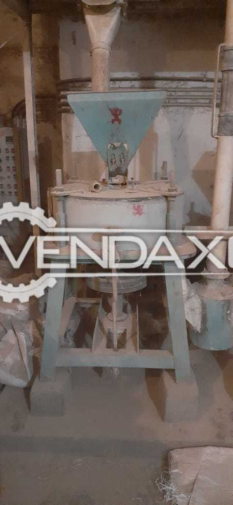 For Sale Used Besan Mill- Dal Mill- Electric Material Machinery Setup