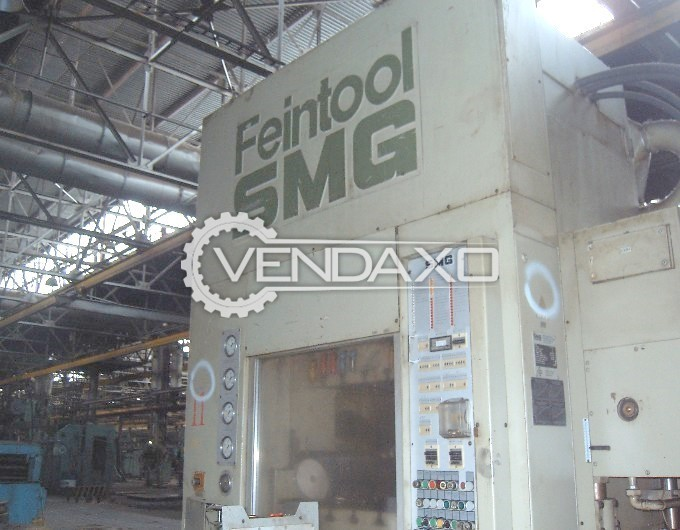 SMG Feintool HFA 630 Mechanical Fine Blanking Press Machine - Capacity : 630 Ton