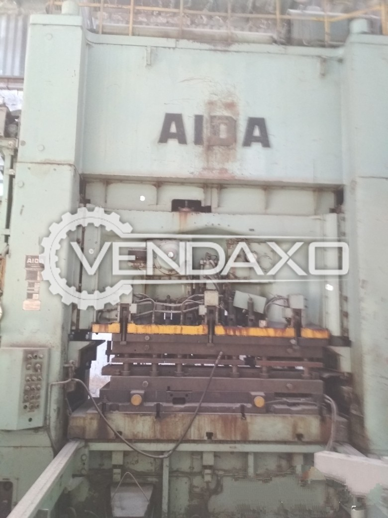 Aida PDA 400 High Speed Blanking Press Machine - Capacity : 400 Ton