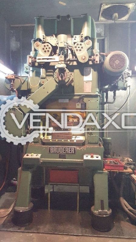 Bruderer BSTA41 High Speed Blanking Press Machine - Capacity : 40 Tons