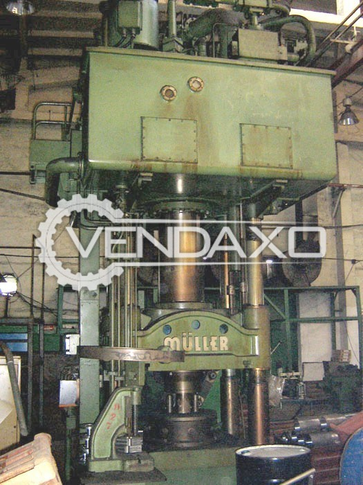 Muller Make Sheet Stamping Hydraulic Press Machine - Capacity : 500 Ton