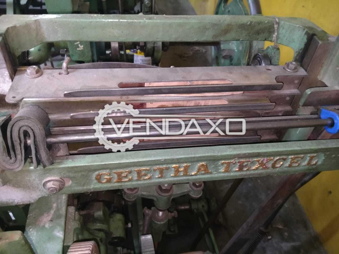 5 Set OF Geetha Make Power Loom Machine - Width - 54 Inch