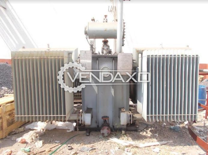 Crompton Greaves Oil Cooled Outdoor Distribution Transformer - 1500 Kva, 2011 Model