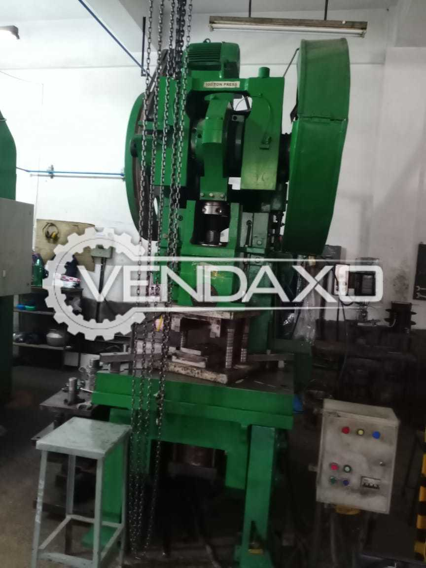 Indian Make Press Machine - Capacity : 100 Ton