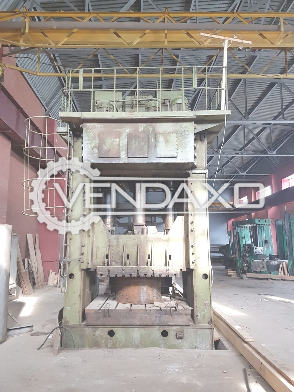 Russian P 315 Sheet Stamping Hydraulic Press Machine - Capacity : 630 Ton