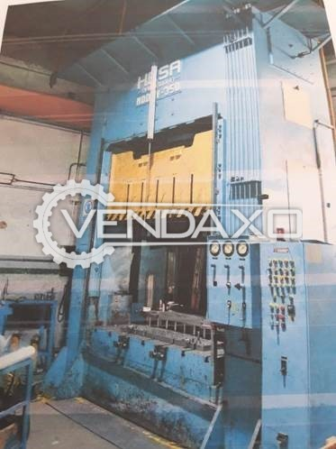 Hesa Make Sheet Stamping Hydraulic Press Machine - Capacity : 350 Ton