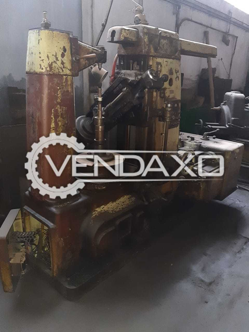 TOS FO 6 Gear Hobbing Machine - Max.Gear Diameter : 600 mm