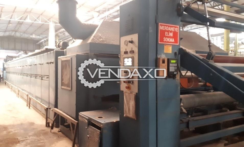 Stentex Stenter Machine - Width - 2.90 Meter