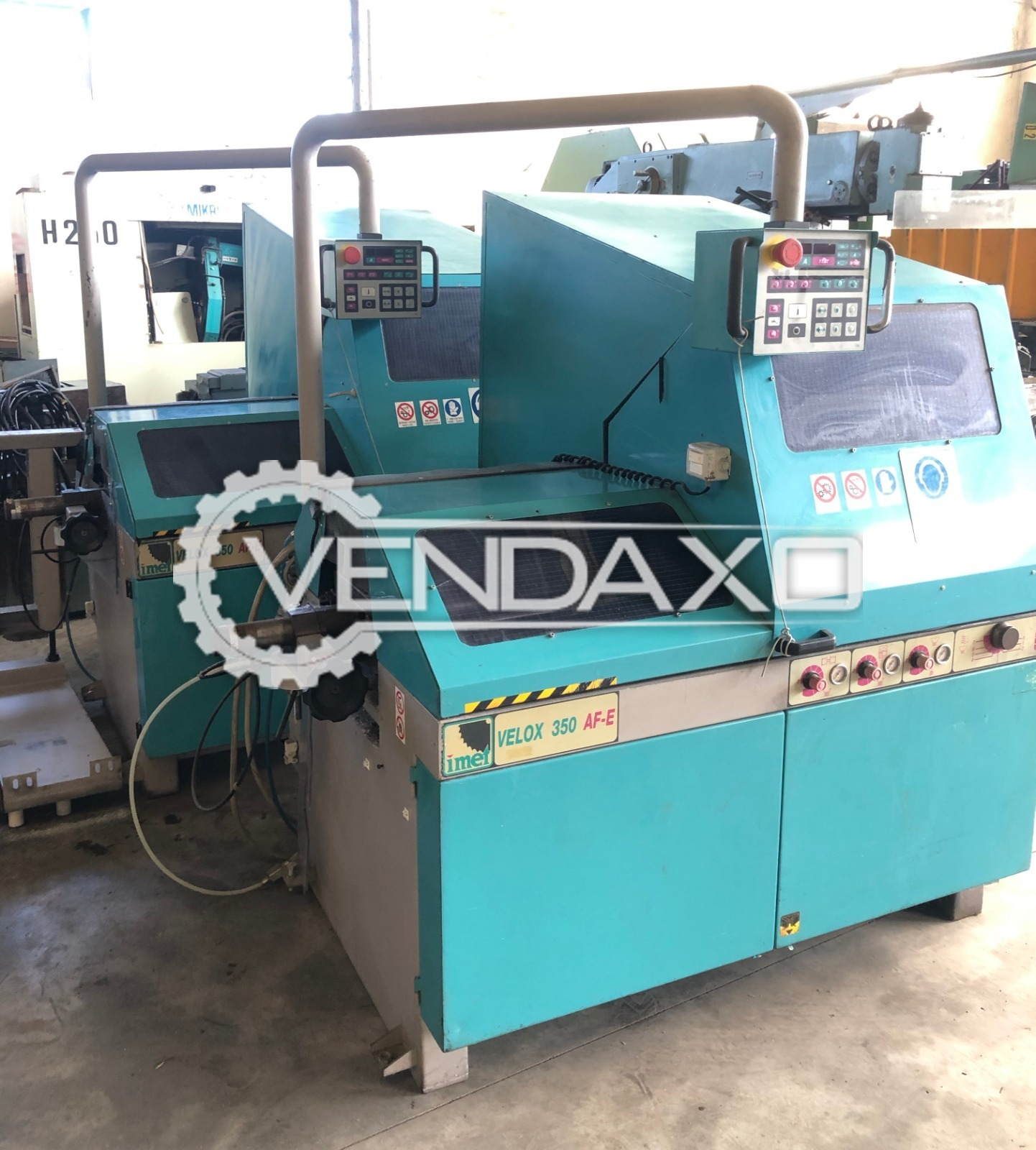 Imet Velox 350AF-E Automatic Circular Bandsaw Machine - Disc Size : 350 mm