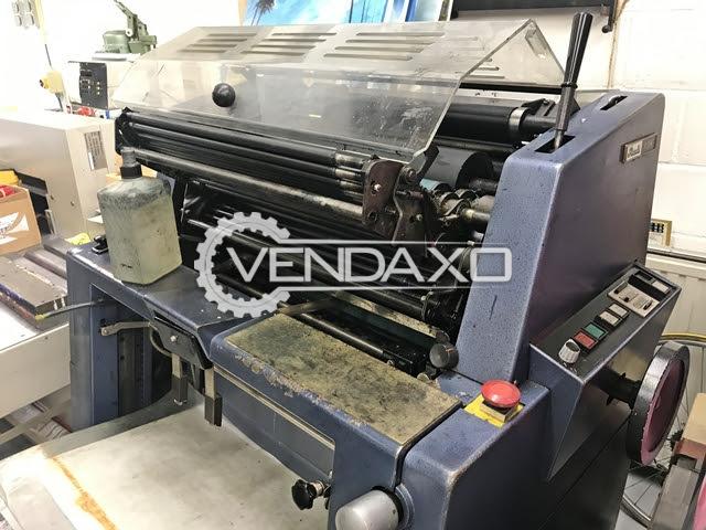 Rotaprint R35 K Offset Printing Machine - 297 x 430 mm, Single Color