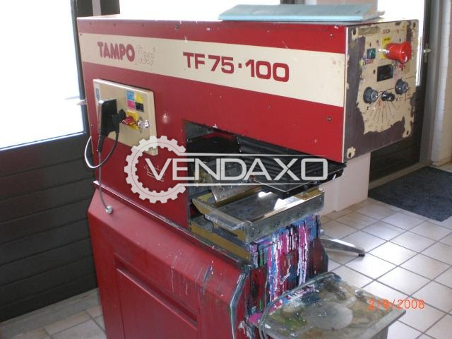 Tampoflex T75-100 Mini Offset Printing Machine - 7 x 10 cm, Single Color