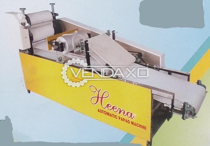 Heena Make Papad Making Machine - 1.5 kg in 20 Minute