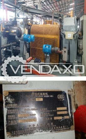 3 Set OF Dalian Make Open Mill Rubber Machine - 1100 x 400 mm