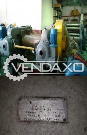 2 Set OF Buzuluk Make Open Mills/Calendar Machine - 1000 x 400 mm