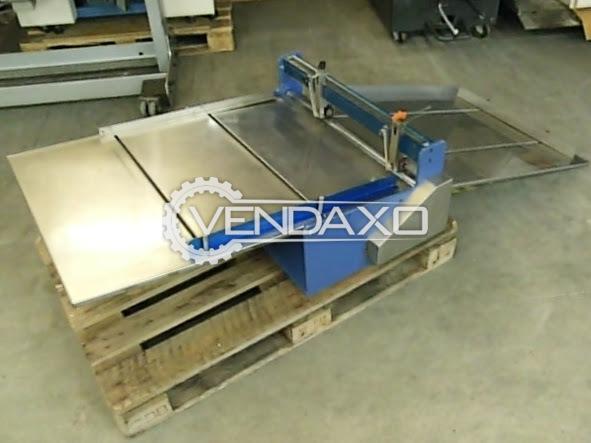 Universal Slitter/Cutter (Table Model) Machine - 72 x 104 cm