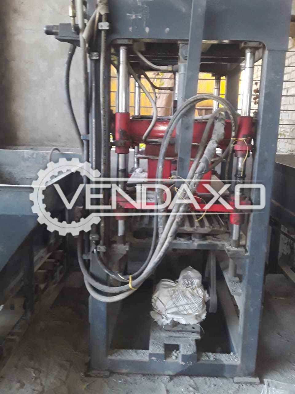 Available For Sale Fly Ash Brick Machine - 14 Brick/stroke