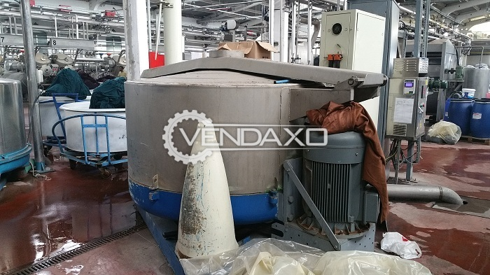 Pozzi Hydro Extractor - 600 KG