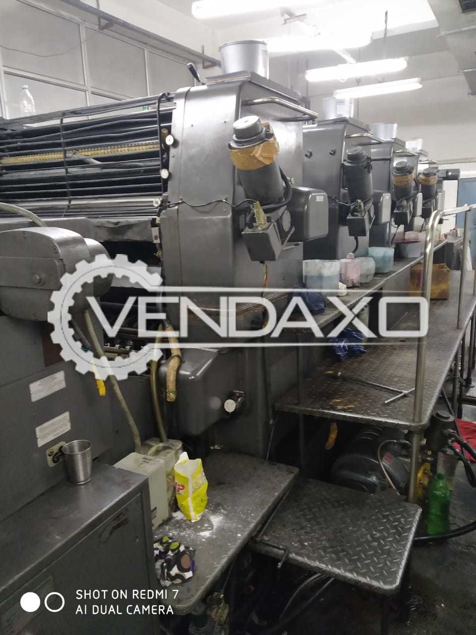 Heidelberg HD 102V Offset Printing Machine - 28 x 40 Inch, 4 Color