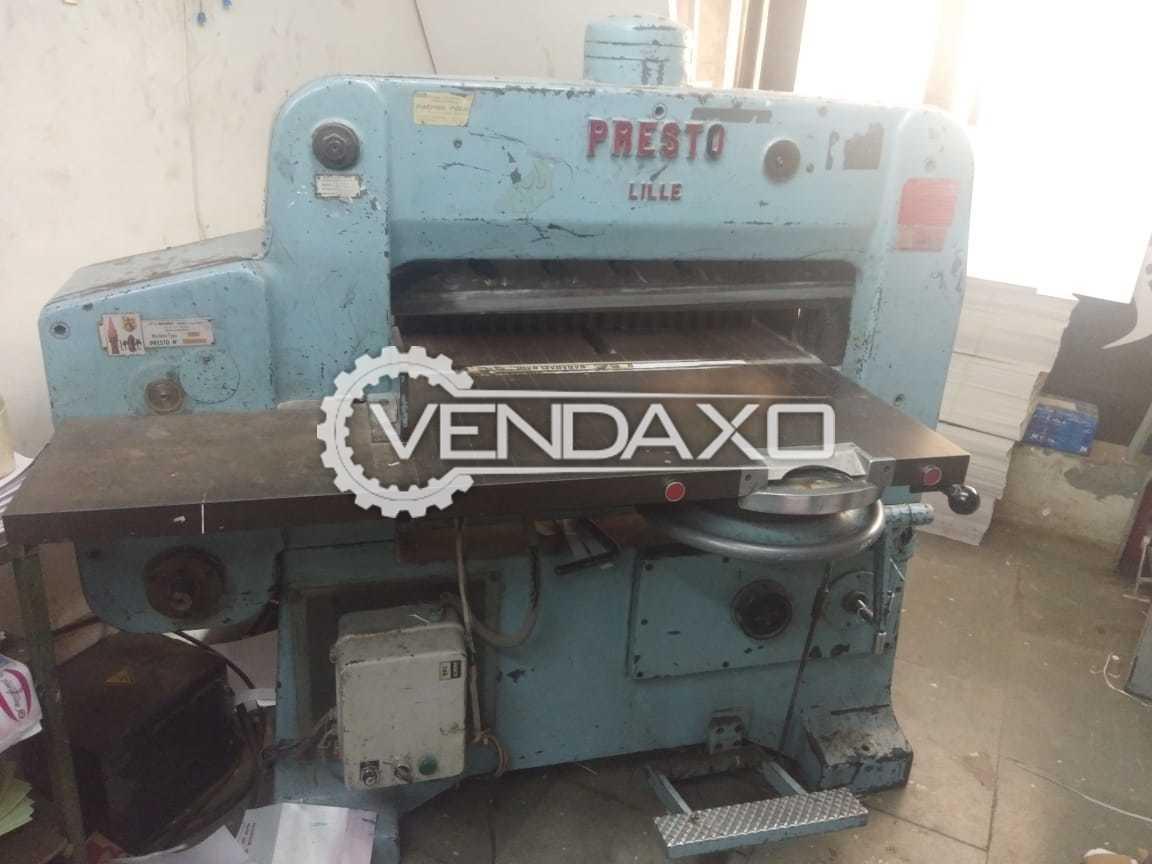 Presto Make Paper Cutting Machine - Size - 32 Inch