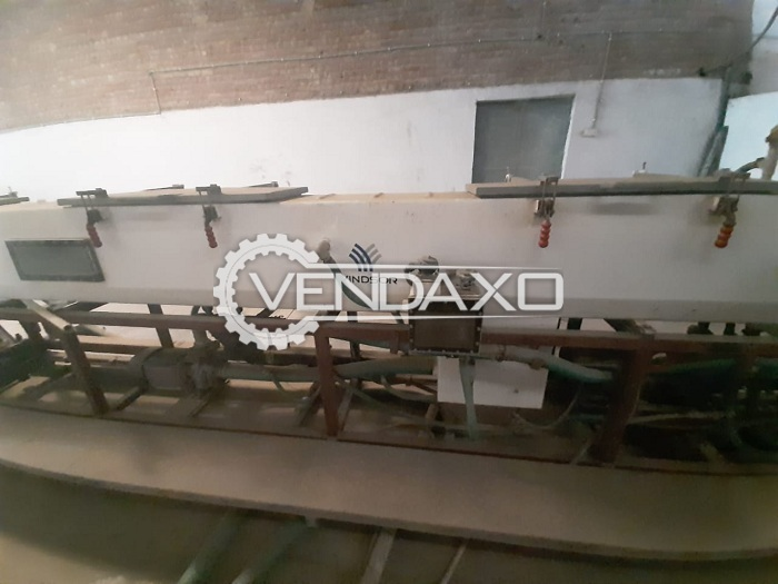 Windsor KTS 200 Twin Screw Pipe Extrusion Line - 40 to 110 mm
