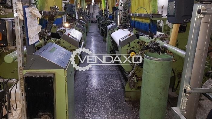 8 Set OF Dornier Jacquard Weaving Machine - Width - 1.80 to 2 Meter