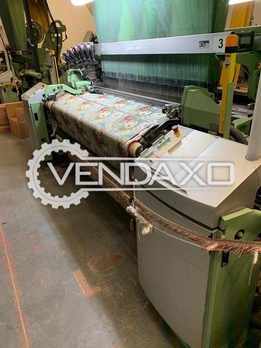 8 Set OF Dornier PTS 12/J Jumbo Jacquard Weaving Machine - Width - 1.90 Meter