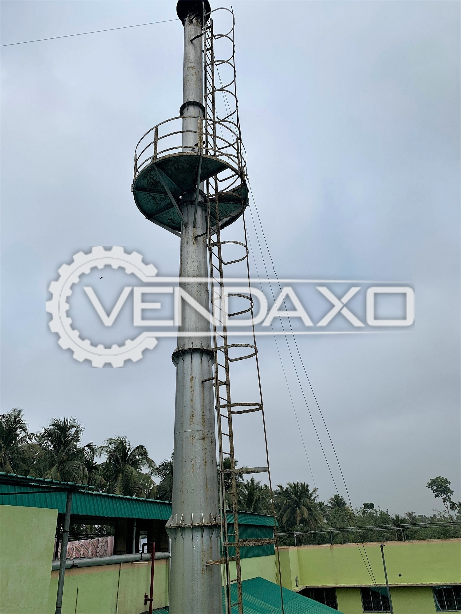 For Sale Used Chimney for ventilation process - Diameter - 50 to 150 CM