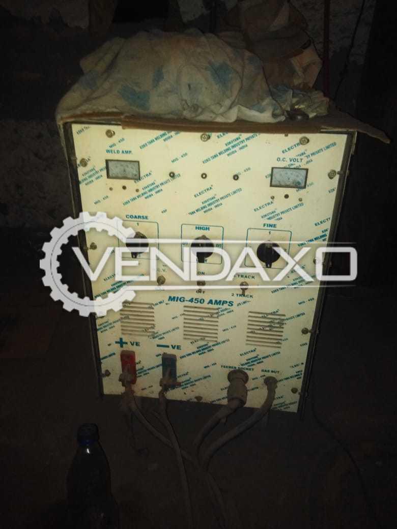 Electra kokotawa MIG Welding Machine - 450 Amps