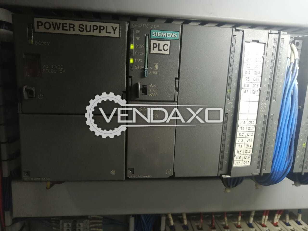 Available For Sale Siemens Make PLC With CPU 313c-2dp Compact - 2013 Model