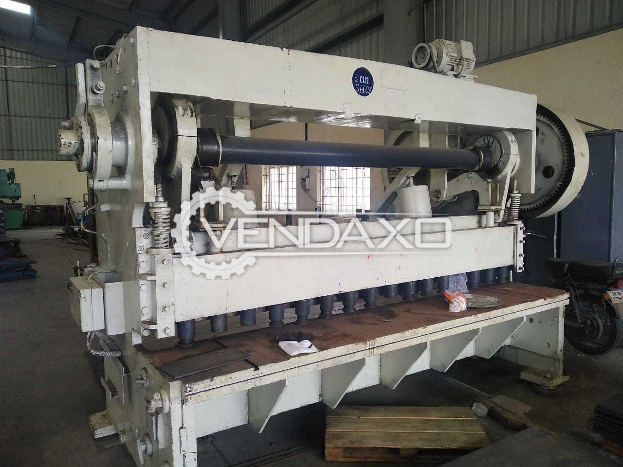 TEE Make Mechanical Shearing Machine - 2500 x 8 mm