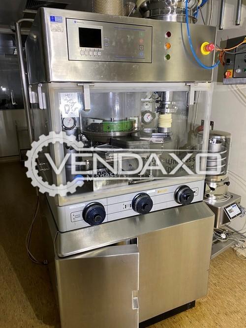 Manesty Unipress Diamond Tablet Press Machine - 27 Station