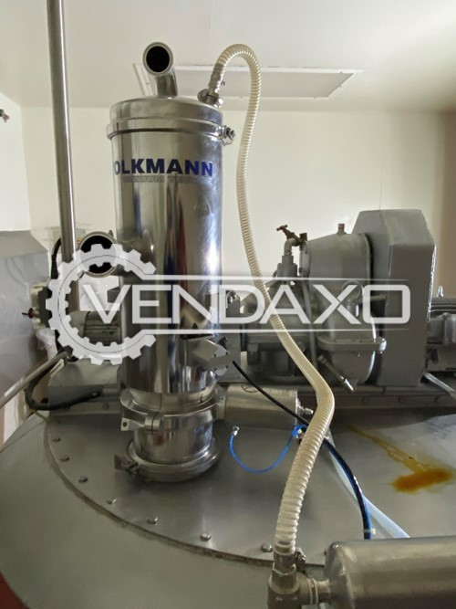 Volkmann Cone Mixer With Vacuum Conveyor System - 1000 Liter