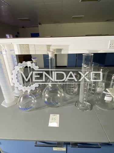 Avaialble For Sale Used Glassware Setup