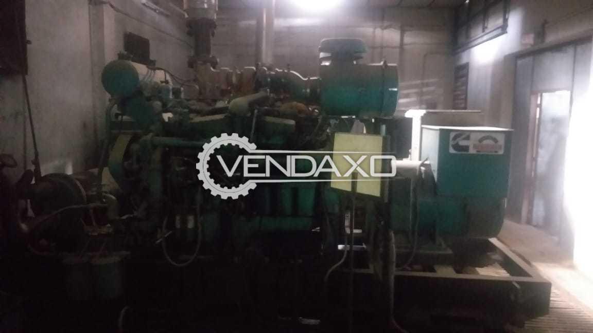 3 Set OF Cummins Sudhir Diesel Generator - 625 Kva