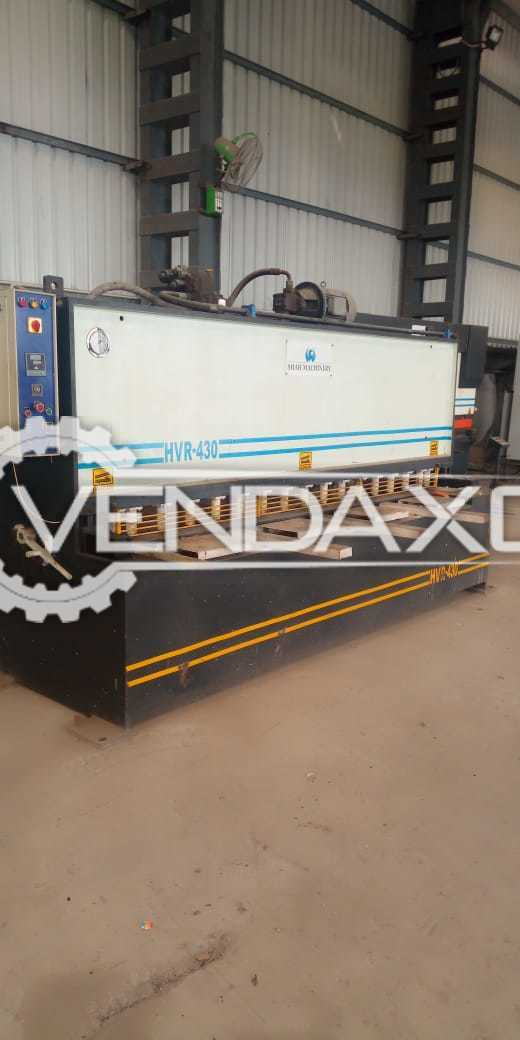 Shah Machinery HVR-430 Hydraulic Shearing Machine - 3000 x 4 mm