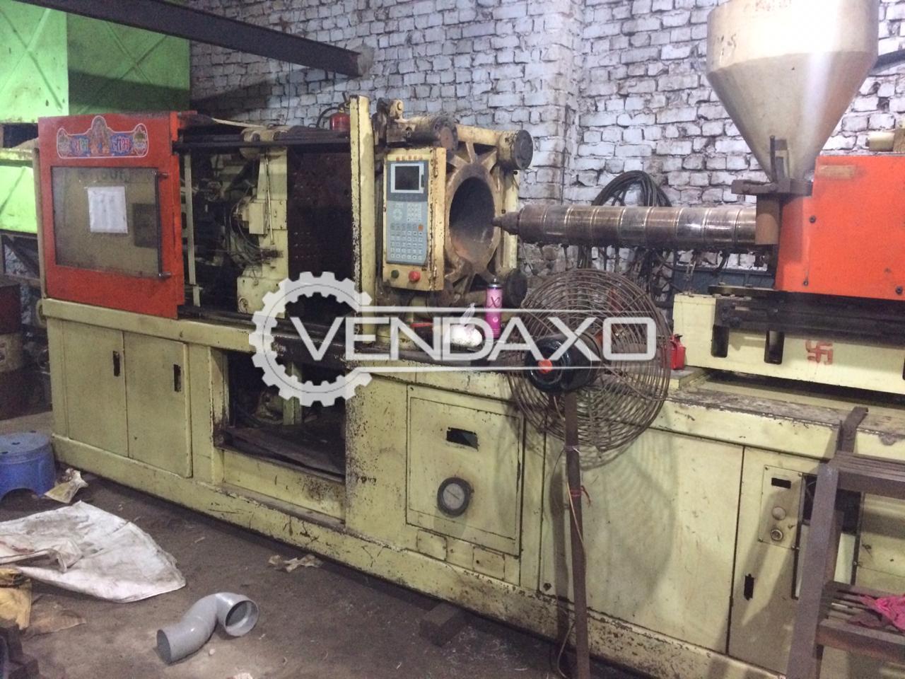 Niigata Injection Moulding Machine - 160 Ton